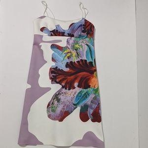 Clover Canyon Tube Dress Floral Design Size M